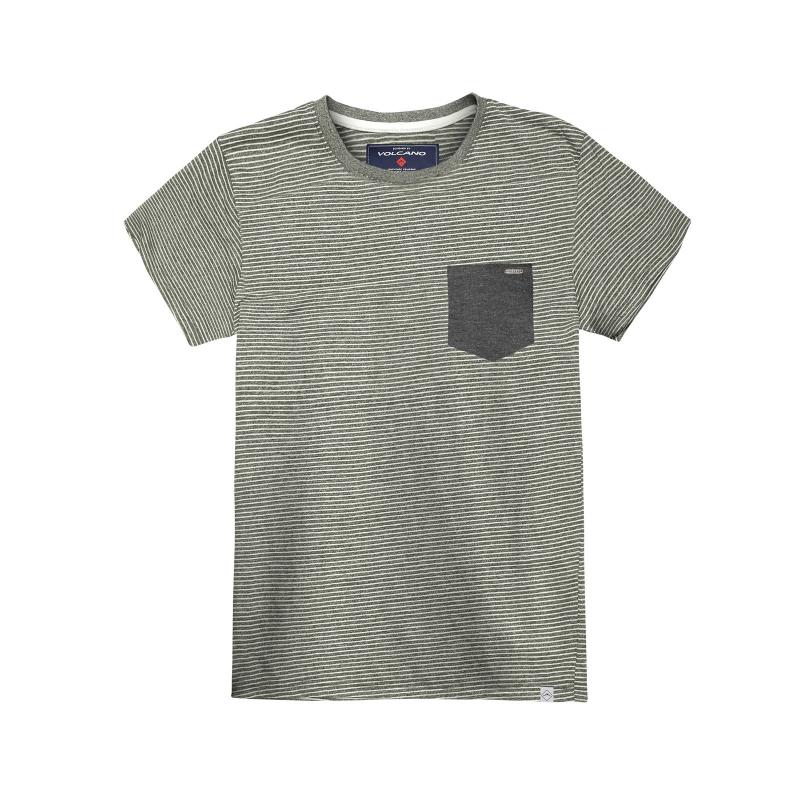 46c8b8448d4e Pánske tričko s krátkym rukávom VOLCANO-T-TOGO Olive - Pánske tričko s  krátkym