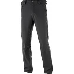Pánske turistické nohavice SALOMON-Nohavice WAYFARER LT PANT M Black