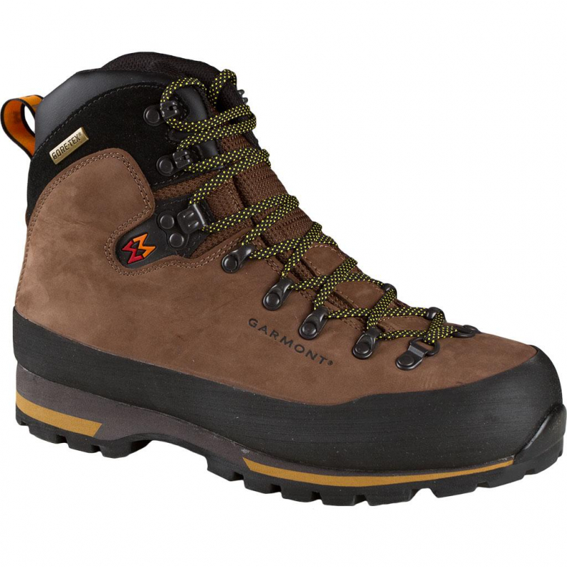 d83148f09306 Pánska turistická obuv vysoká GARMONT-Nebraska GTX Brown -