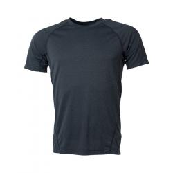 Pánske turistické tričko s krátkym rukáv NORTHFINDER-ELISEO-Grey dark
