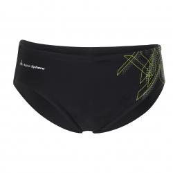 Pánske plavecké plavky AQUA SPHERE HYRO-black/brightgreen