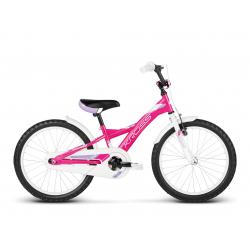Dievčenský bicykel KROSS-ELLA - pink white violet glossy