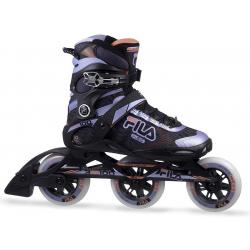 Dámske fitness kolieskové korčule FILA SKATES-PRIMO 100 LADY BLACK/VIOLET