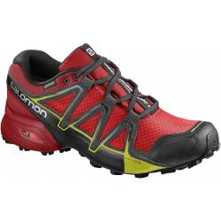Pánska trailová obuv SALOMON-SPEEDCROSS VARIO 2 GTX FIERY RED/B