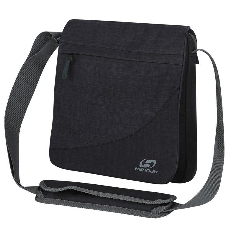 Taška cez rameno HANNAH-MB A4 anthracite - Praktická taška značky Hannah, ktorú využijete do práce a na každodenné nosenie.