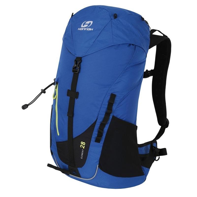 Turistický ruksak HANNAH-Element 28 blue - Turistický batoh značky Hannah v modernom športovom dizajne.