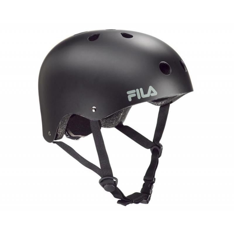 Prilba na korčuľovanie FILA SKATES-NRK FUN HELMET BLACK - Prilba na korčuľovanie značky Fila Skates.