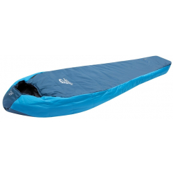 Turistický múmiový spacák HANNAH-Trek 200 195P moroccan blue