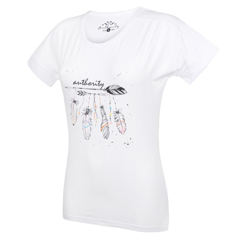 a2e48cd55a80 Dámske tričko s krátkym rukávom AUTHORITY-RAUTYNAS white - Dámske tričko s  krátkym rukávom značky