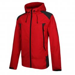 Pánska turistická softshellová bunda AUTHORITY-MARTENIS red