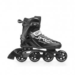 Pánske fitness kolieskové korčule SPOKEY PRIME 80mm/82A ABEC9 BLACK