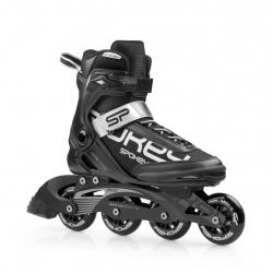 Fitness kolieskové korčule SPOKEY-PRIME 80mm/82A ABEC9 BLACK