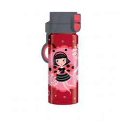 Fľaša MIRA La Coccinelle 475ml ružová MIR