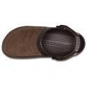 Pánska rekreačná obuv CROCS-Yukon Vista Clog M Espresso/Espresso - Rekreačná obuv značky Crocs.