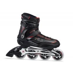 Pánske fitness kolieskové korčule FILA SKATES-MIZAR 84 BLACK/RED