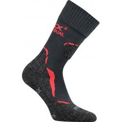 Turistické ponožky VOXX DUALIX DARK GREY