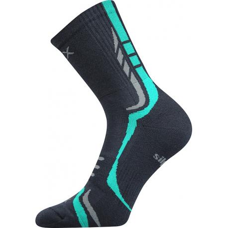 Turistické ponožky VOXX-THORX DARK GREY
