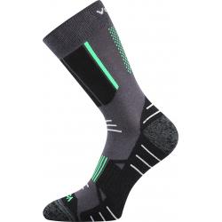 Pánske turistické ponožky VOXX-AVION DARK GREY