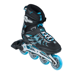 Dámske fitness kolieskové korčule FILA SKATES-SHADOW 84 18 LADY BLACK/BLUE