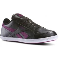 Rekreačná obuv REEBOK-REEBOK ROYAL TRANSP BLACK/FUCHSIA/SHARK/