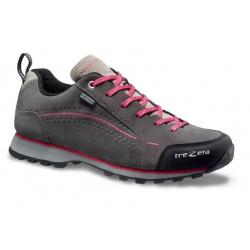 Dámska turistická obuv nízka TREZETA-SPRING WP GREY MAGENTA