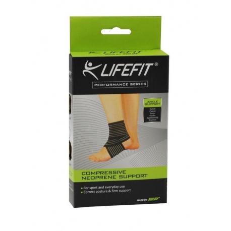 Fitness chránič LIFEFIT-Bandáž členku BK101 TRL
