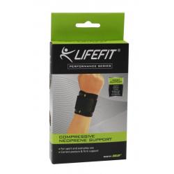 Fitness chránič LIFEFIT Neoprenová Bandáž LIFEFIT BN801 Zápästie páska