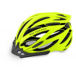 Cyklistická prilba R2 ARROW - neónová žltá/čierna
