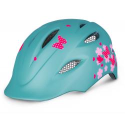 Cyklistická prilba R2 DUCKY - mentolová/ružová
