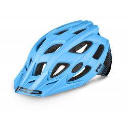 Cyklistická prilba R2 ROCK - modrá/čierna