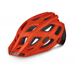 Cyklistická prilba R2-ROCK - červená/čierna