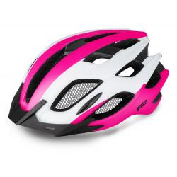Cyklistická prilba R2 TOUR - biela/ružová/čierna