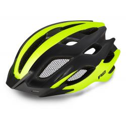 Cyklistická prilba R2 TOUR - biela/neónová žltá/čierna
