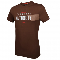 032ab173bdb4 Pánske tričko s krátkym rukávom AUTHORITY-ARTEO brown