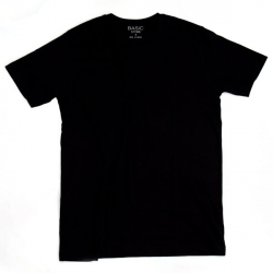 Pánske tričko s krátkym rukávom BASIC STORE Mens T-shirt Basic black