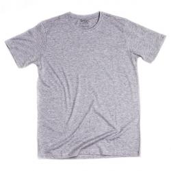 Pánske tričko s krátkym rukávom BASIC STORE Mens T-shirt Basic grey