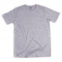 Pánske tričko s krátkym rukávom BASIC STORE-Mens T-shirt Basic grey - Pánske tričko s krátkym rukávom značky Basic Store.