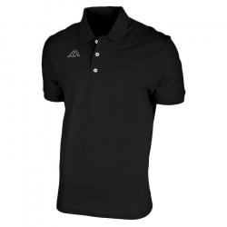 Pánske polo tričko s krátkym rukávom KAPPA LOGO LIFE MSS 005-Black
