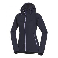 Dámska turistická softshellová bunda NORTHFINDER-ADRIANNA-Blue dark