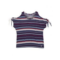 Dámske tričko s krátkym rukávom VOLCANO-K-LUISA-WOMEN-Mix