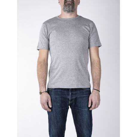 Pánske tričko s krátkym rukávom BASIC STORE Mens T-shirt Basic grey - Pánske tričko s krátkym rukávom značky Basic Store.