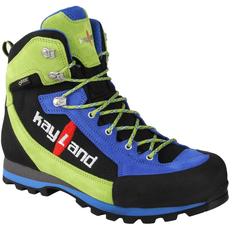 e392d7c32 Pánska turistická obuv vysoká KAYLAND-XM LITE GTX BLUE/LIME - Pánska obuv  značky