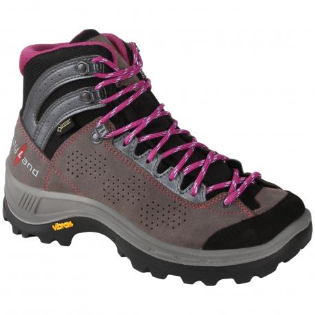 Dámska turistická obuv vysoká KAYLAND-IMPACT WS GTX DARK GREY