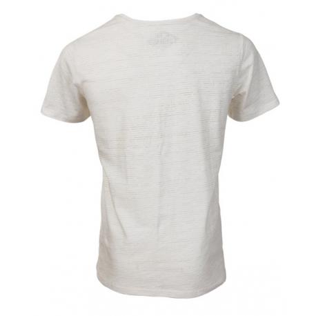 032ddfe95916 Pánske tričko s krátkym rukávom FUNDANGO-Jaggy-sand - Pánske tričko s krátkym  rukávom