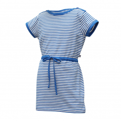 Dievčenské šaty COLOR KIDS-Nilja dress-GIRLS-Blue light
