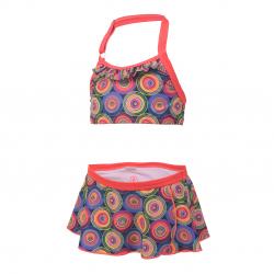 Dievčenské dvojdielne plavecké plavky COLOR KIDS-Tracy - Diva Pink