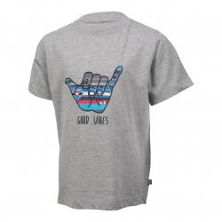 Chlapčenské tričko s krátkym rukávom COLOR KIDS-Theo-BOYS-Grey light