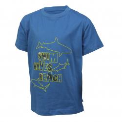 Chlapčenské tričko s krátkym rukávom COLOR KIDS-Theo-BOYS-Blue