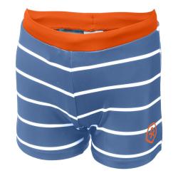 Chlapčenské plavecké boxerky COLOR KIDS-Norwich - Jeans Blue