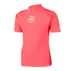 Dievčenské tričko na kúpanie COLOR KIDS-Timon - Fiery Coral